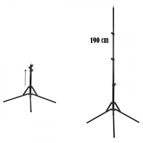 Qihe QH-J190 Light Stand/Tripod Stand,Max Height 190CM