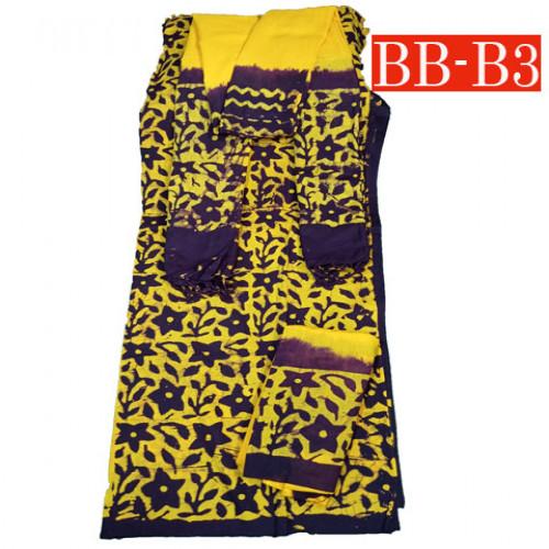 Batik High Quality Three piece BB-B4