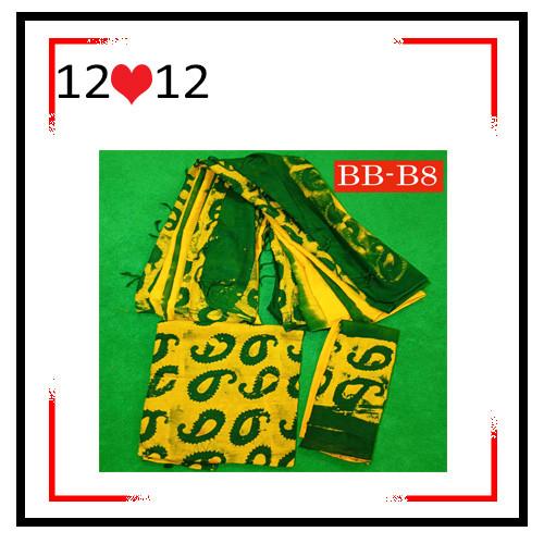 Batik High Quality Three piece BB-B8