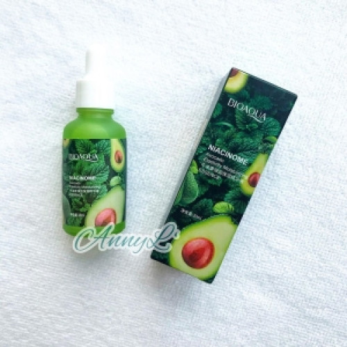 BIOAQUA Avocado Elastic Moisturizing Whitening Nutrition Oil Face Serum Bright