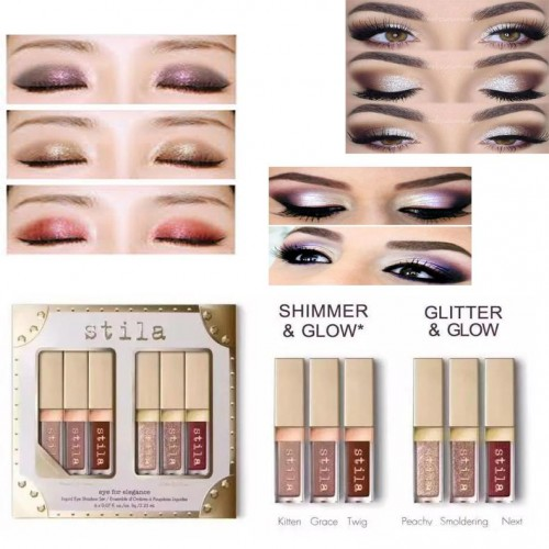 Stila eyeshadows