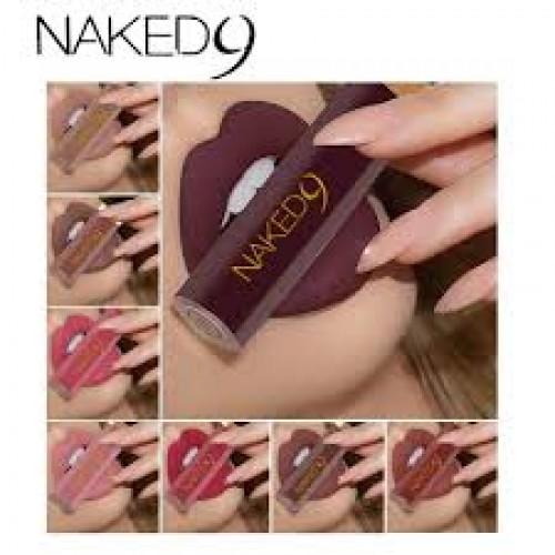 Naked 9 Matte Lipgloss - 12pcs