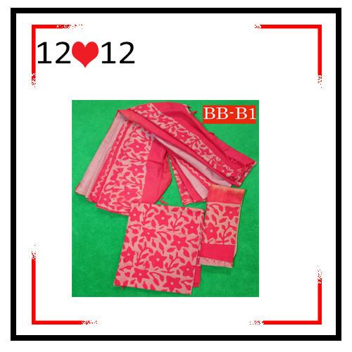 Batik High Quality Three piece BB-B1