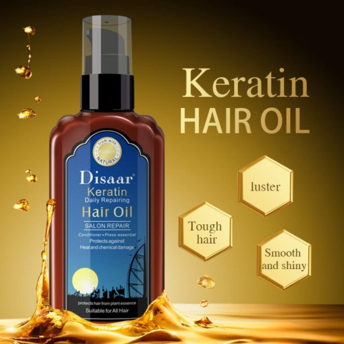 Disaar keratin hair oil