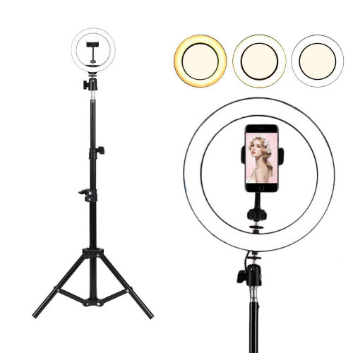 "Ring Light 10"" Studio SET with Tripod Stand for Youtube /Facebook live Video"