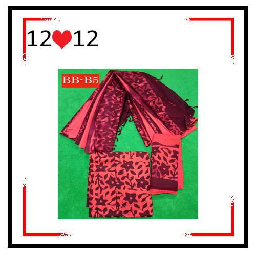 Batik High Quality Three piece BB-B5