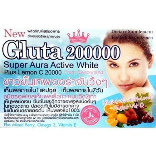 Gluta 200000 Mg Whitening VIT C Mix Berry Vitamin E
