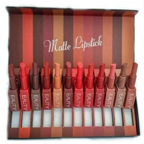 Huda Beauty Lipstick 12 pcs