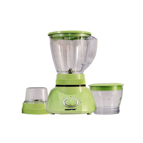 Geepas Gsb1514 3 In 1 Super Blender With Safety Lock (Green)