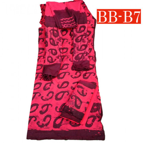 Batik High Quality Three piece BB-B7