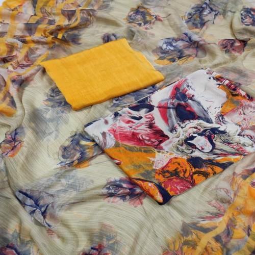 Original Indian Rishika Silk Three Pcs-20