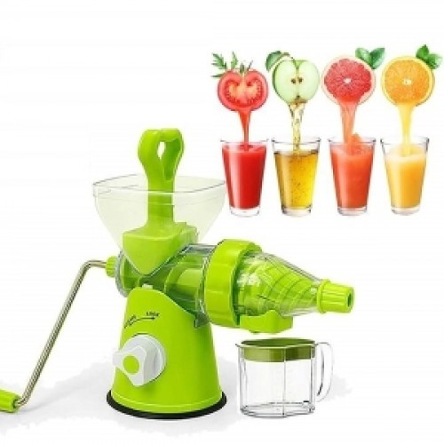 Manual Hand Juice Maker Plastic Handel