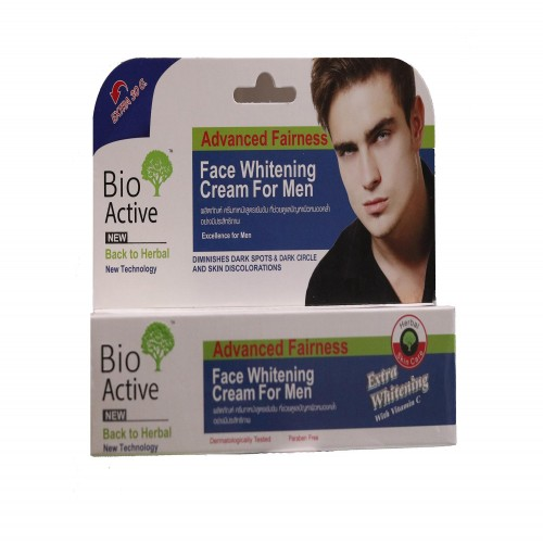 Bio Active Face Whitening Cream For Men 100g Original Thailand