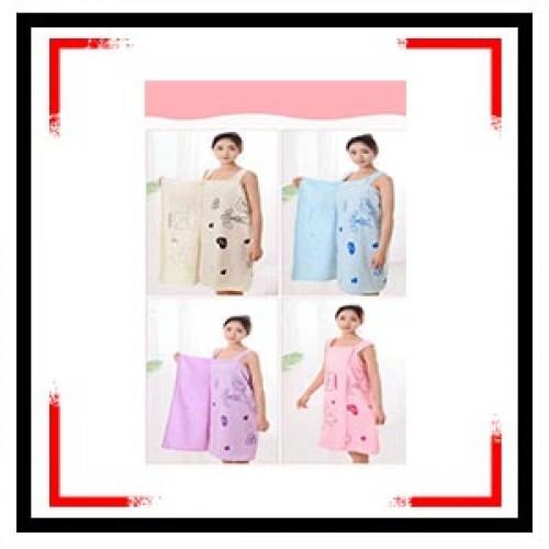 Womens Bath Skirt Towel