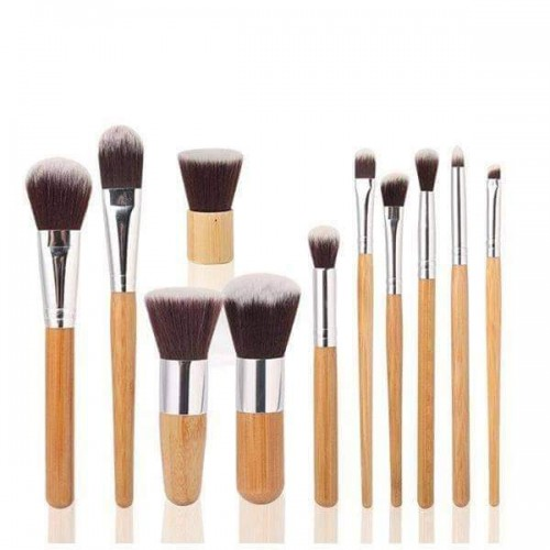 Bamboo brush set 11 pcs