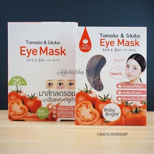 Tomato An D Gluta Eye Mask