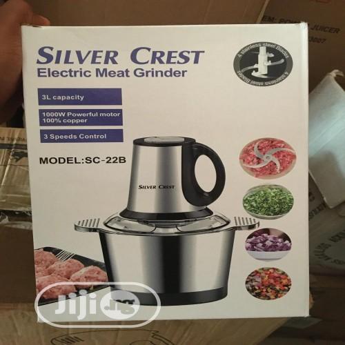 Silver Crest Electric Meat Grinder 2 Ltr