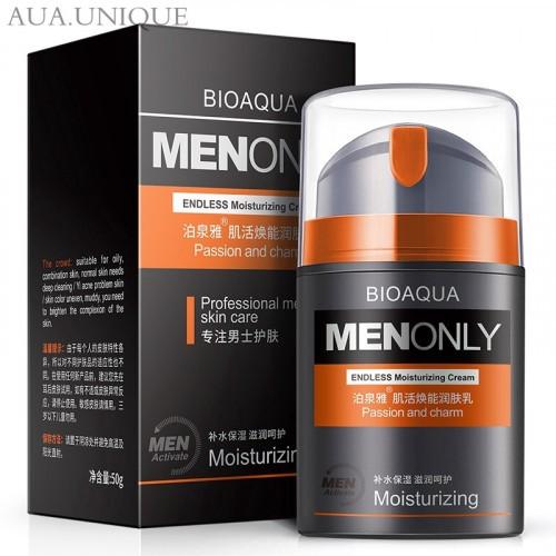 Bioaqua Men only Endless moisturizing cream