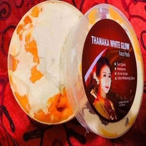 THANAKA WHITE GLOW  face pack