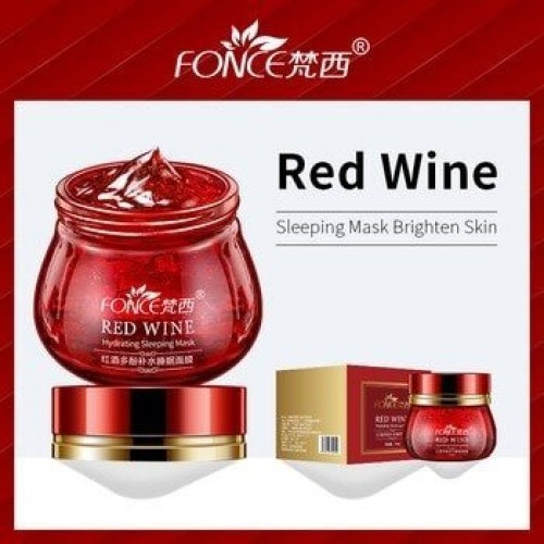 Red Wine Hydrating Sleeping Mask