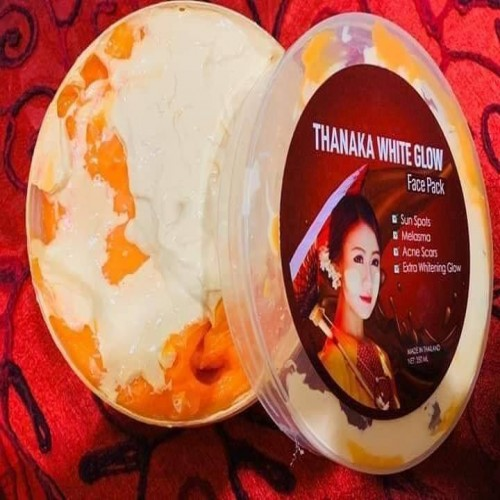 Thanaka White Glow chees Face Pack