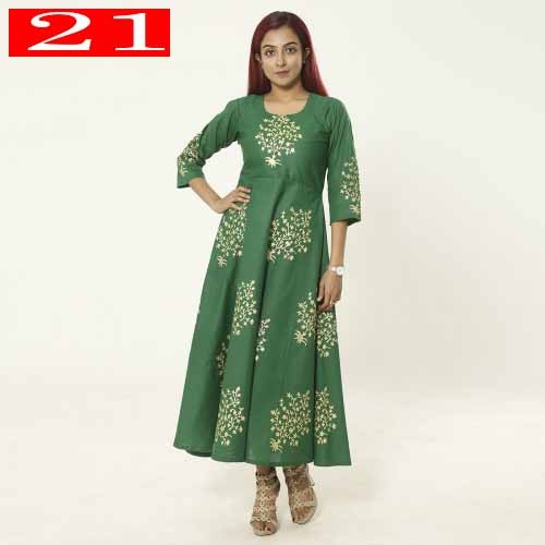 One Piece Readymade Kurti For Woman 21
