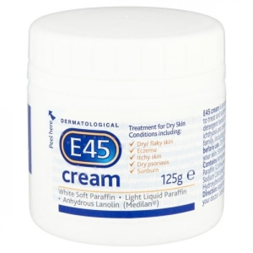E45 Dermatological Cream for Dry Skin - 125g
