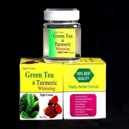 Green tea & Turmeric Whitening Night Cream