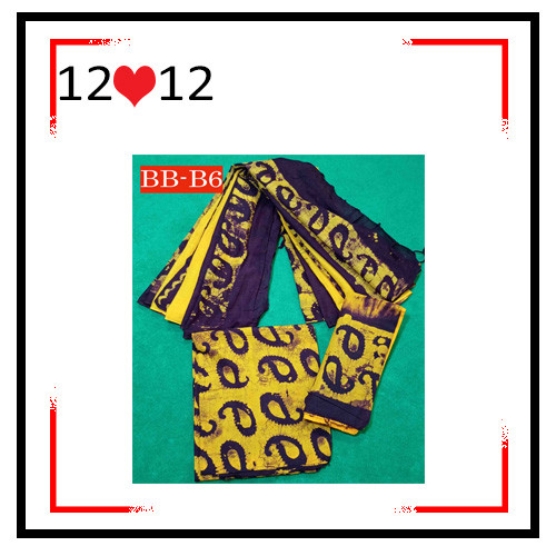 Batik High Quality Three piece BB-B6