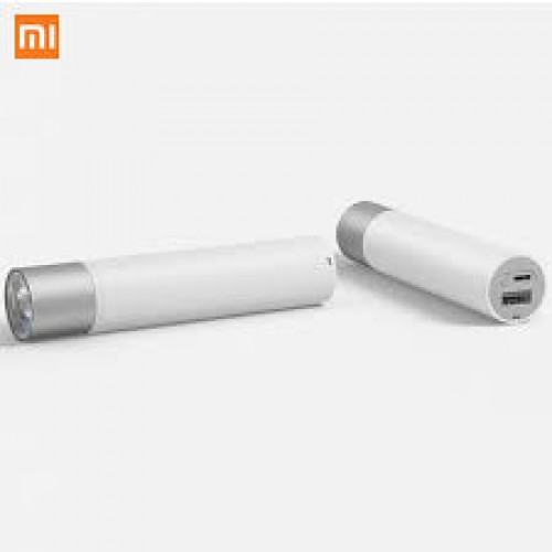 MI Portable Flash Light with power bank