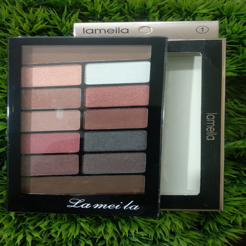 Lameila classic 12 color eyeshadow palette