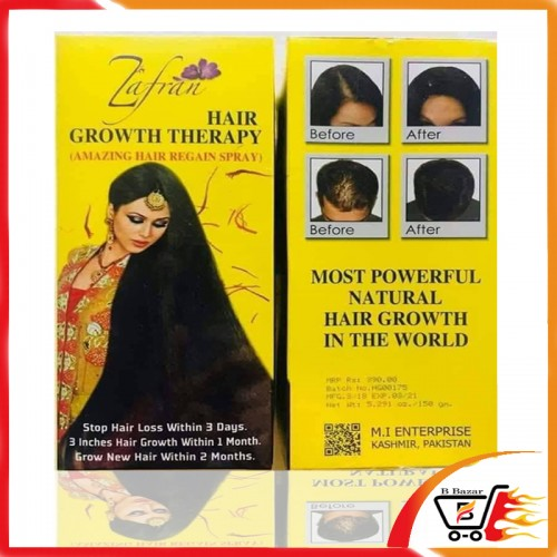 Original Zafran hair growth oil-B Bazar the best seller of Bangladesh
