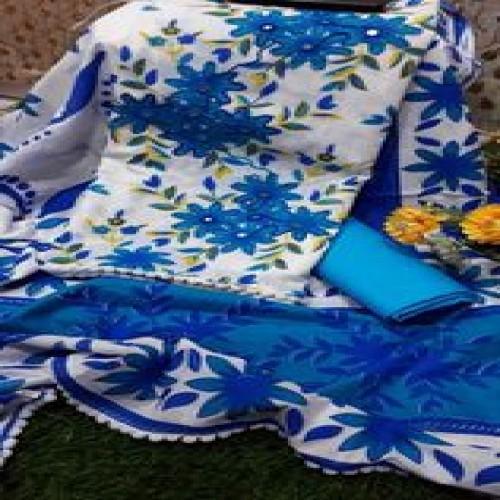 Skin Print Cotton Three Pcs-40