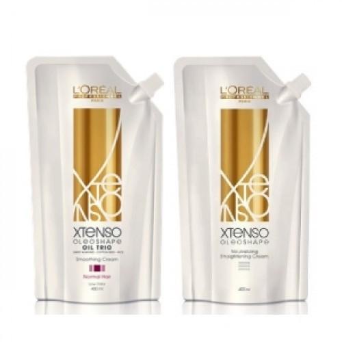 Loreal Xtenso Evershape Rebonding Set For Natural Hair 400ml