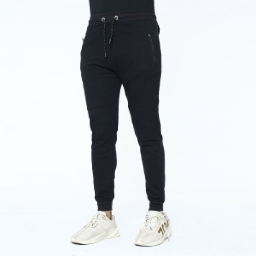 premium quality mens cotton joggers-15