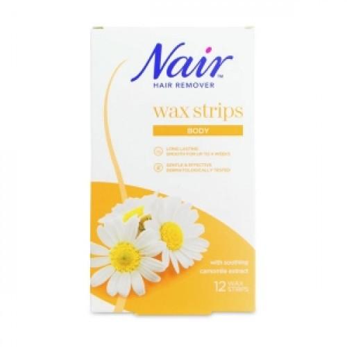 Nair Hair Remover Body Wax Strips 12 pcs