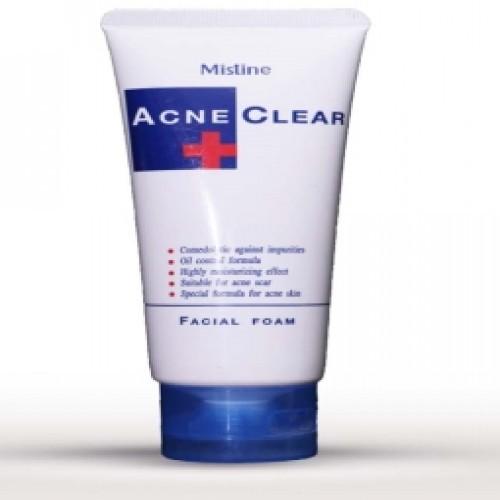 Mistine Acne Clear Facial Form & Face Wash