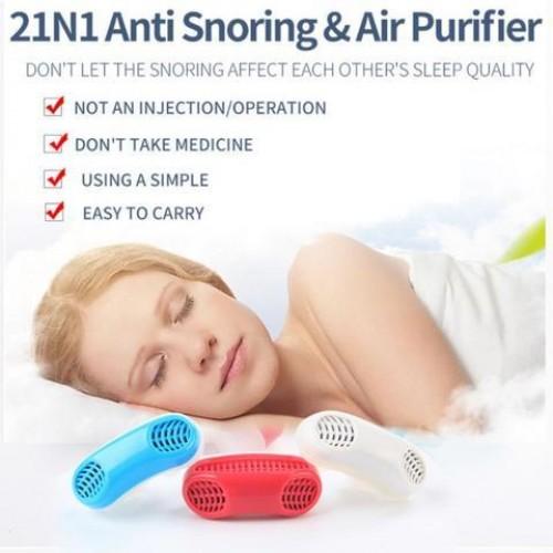2in1 anti snoring & air purifier