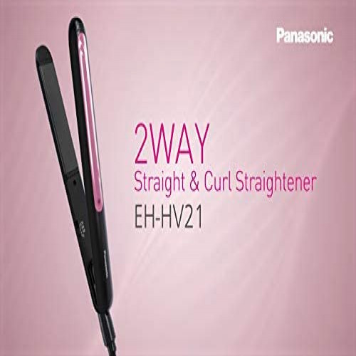 Panasonic Hair Straightener EH-HV21 Black