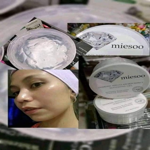 Miesoo Diamond glass skin shoothing gel