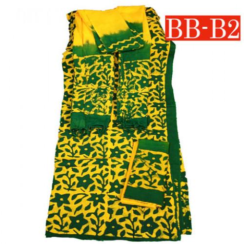 Batik High Quality Three piece BB-B2