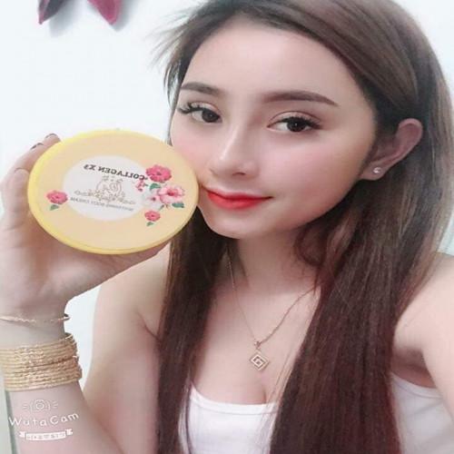 Collagen x3 whitening body cream