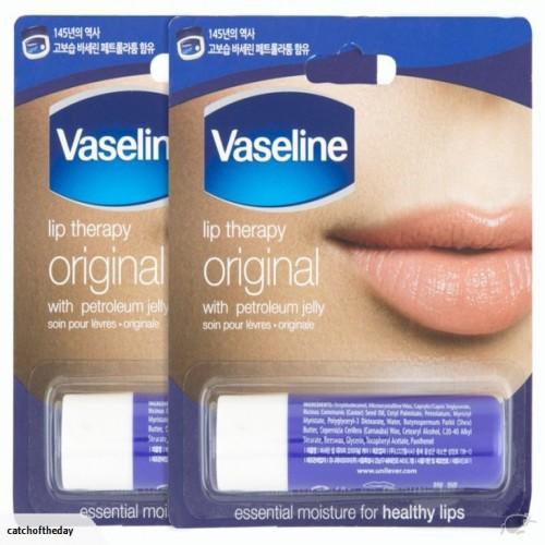 vaseline lip therapy original Korean