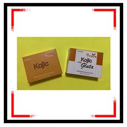 White Kojic With Gluta Whitening Soap