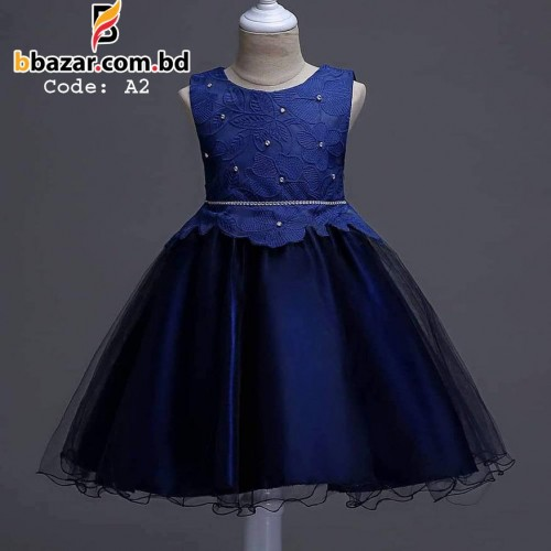 Baby Dress Navy Blue