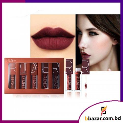 Pudaier semi matte liquid lipstick set