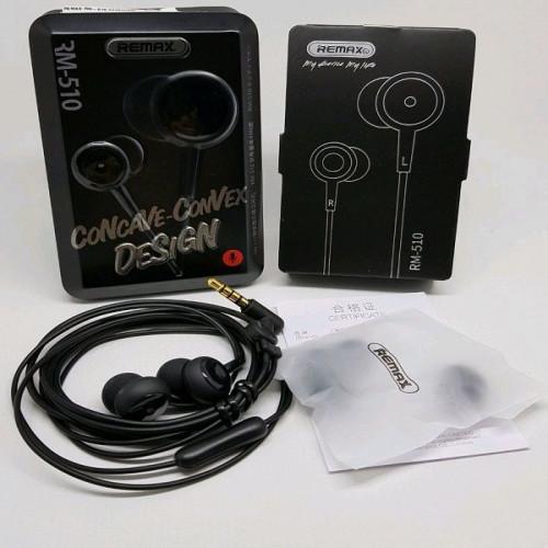 Remax RM 510 In-Ear Earphone - Black