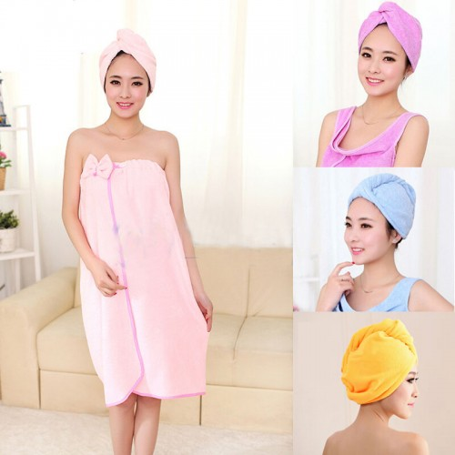 Magic Microfiber Quick Drying Hair Towel