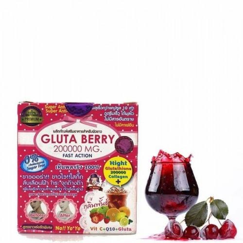 gluta berry 2000000 mg