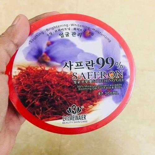 saffron soothing gel